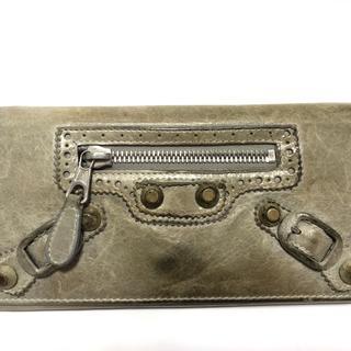 バレンシアガ(Balenciaga)のバレンシアガ 長財布 204537 ライトグレー(財布)