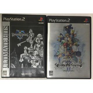 PlayStation2 - 中古 PS2 ソフト キングダム ハーツ 1 & 2 セット