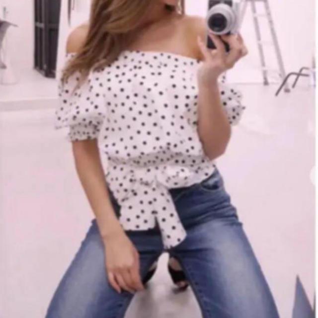 rienda(リエンダ)のrienda オフショルトップス レディースのトップス(カットソー(半袖/袖なし))の商品写真