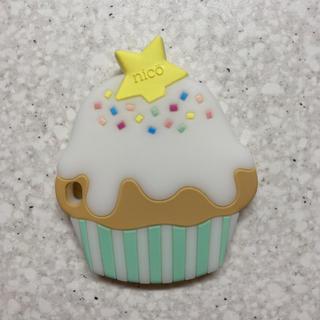 ミキハウス(mikihouse)のカップケーキ 歯固め nico(がらがら/ラトル)