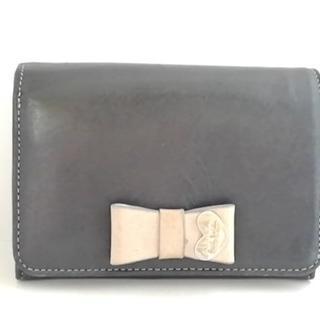 ポールスミス(Paul Smith)のポールスミス 2つ折り財布 黒×ベージュ(財布)