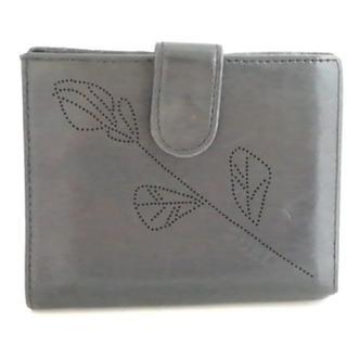 フルラ(Furla)のFURLA(フルラ) 2つ折り財布 黒 レザー(財布)