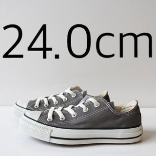 CONVERSE - 新品 コンバース オールスター OX チャコール 24.0cm