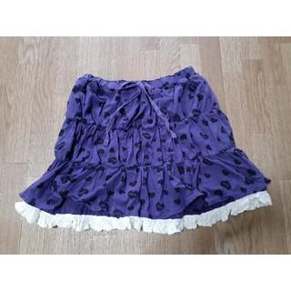 ジェニィ(JENNI)のジェニー150㎝ ハート柄スカート 小さめ(スカート)