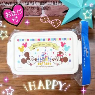 ミッキーマウス(ミッキーマウス)の新品❤️東京ディズニーリゾート限定❤️ミッキー ミニー ランチボックス♪(弁当用品)