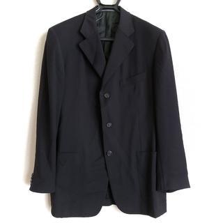 エルメネジルドゼニア(Ermenegildo Zegna)のゼニア ジャケット サイズ50 メンズ 黒(その他)