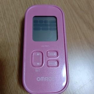 オムロン(OMRON)のオムロン OMRON HV-F021 ピンク 低周波治療器(マッサージ機)
