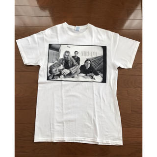 ヒステリックグラマー(HYSTERIC GLAMOUR)のNirvana ニルヴァーナ Tシャツ カートコバーン(Tシャツ/カットソー(半袖/袖なし))