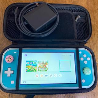 Nintendo Switch - 【中古】任天堂Switch あつ森/ソフト付き