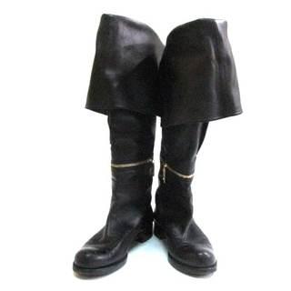 ルイヴィトン(LOUIS VUITTON)のルイヴィトン ロングブーツ 37 1/2 黒(ブーツ)