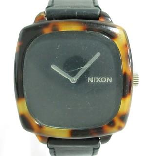ニクソン(NIXON)のニクソン 腕時計 THE SHUTTER 12F 黒(腕時計)