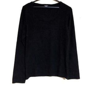 トルネードマート 長袖セーター メンズ 黒(ニット/セーター)