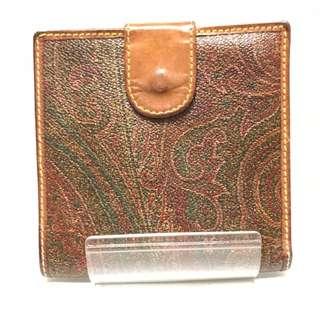 エトロ(ETRO)のETRO(エトロ) Wホック財布 ペイズリー柄(財布)