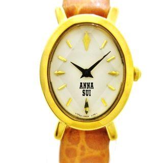 アナスイ(ANNA SUI)のアナスイ 腕時計 Y150-0AD0 レディース 白(腕時計)
