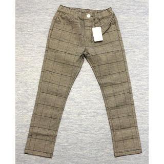 ニシマツヤ(西松屋)の西松屋 子供服 チェック柄長ズボン 120(パンツ/スパッツ)
