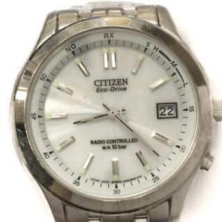 シチズン(CITIZEN)のシチズン 腕時計 H415-S033012 メンズ 白(その他)