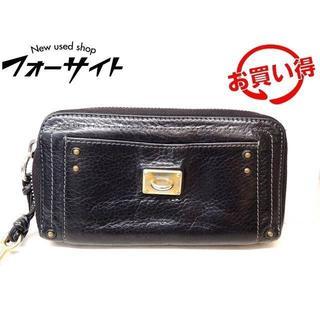 クロエ(Chloe)のクロエ 財布 ■ 7EPM02 パディントン ブラック レザー 1(財布)