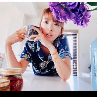 ジーユー(GU)のケイタマルヤマ GU パジャマ ネイビー  レディース ジーユー フラワー 花(パジャマ)