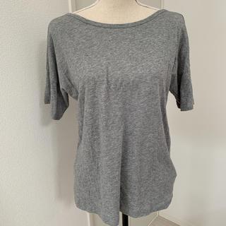 セオリー(theory)のtheoryセオリーグレーTシャツ トップスSサイズ(Tシャツ(半袖/袖なし))