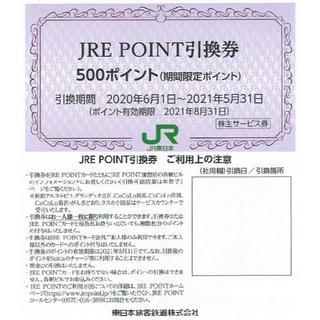 1枚 JRE ポイント引換券