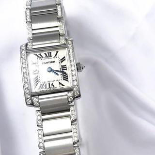 Cartier - 【保証書付】カルティエ フランセーズ ブレスフルダイヤ レディース 腕時計