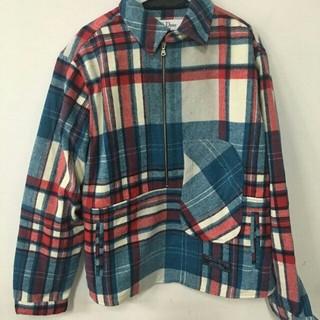 ピースマイナスワン(PEACEMINUSONE)の大人気 長袖のシャツ we11done ハーフジップシャツ(シャツ)