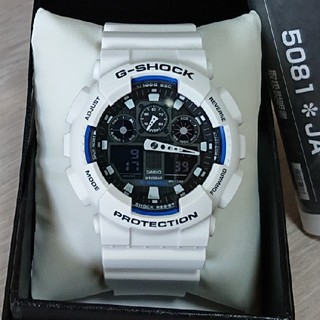 CASIO - 超美品【CASIO/G-SHOCK】デジアナ メンズ腕時計 GA-100B