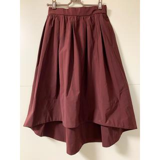 シップス(SHIPS)のSHIPS フィッシュテールフレアスカート(ひざ丈スカート)