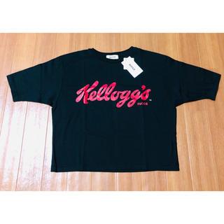 ズッカ(ZUCCa)のzucca × ケロッグ コラボ ロゴTシャツ(Tシャツ(半袖/袖なし))