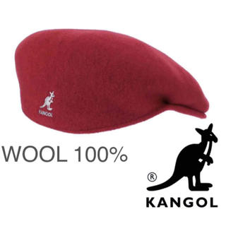 カンゴール(KANGOL)の定価6490円 新品 KANGOL ハンチング ベレー ウール カンゴール 帽子(ハンチング/ベレー帽)