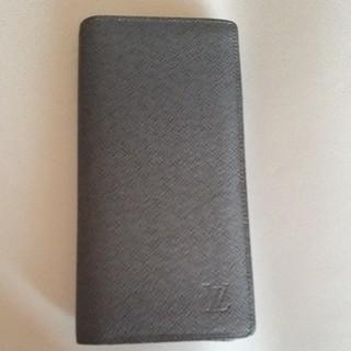 ルイヴィトン(LOUIS VUITTON)の希少 ルイヴィトン 長財布 タイガ 廃盤色グラシエ(長財布)