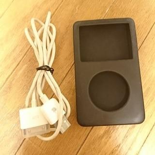 Apple - iPod classic late 2009 シリコンケース 純正ケーブル
