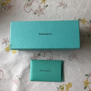 ティファニー(Tiffany & Co.)のティファニー のメガネケース箱(その他)