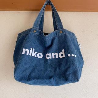 ニコアンド(niko and...)のニコアンド トートバッグ(トートバッグ)