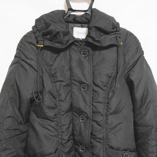 トプカピ(TOPKAPI)のトプカピ ダウンコート サイズ1 S美品  黒(ダウンコート)