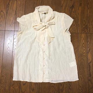 ビームス(BEAMS)のbeams リボンブラウス(シャツ/ブラウス(半袖/袖なし))