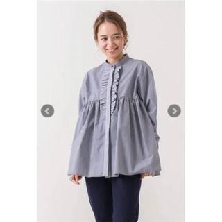 ドゥロワー(Drawer)のyori フリルチェックシャツ(シャツ/ブラウス(長袖/七分))