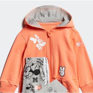 アディダス(adidas)の新品★アディダス ミニーマウス ジョガーセット サイズ75  送料無料(トレーナー)