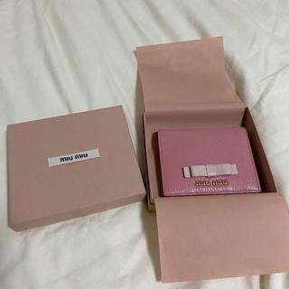 miumiu - miuimiu ミニ財布