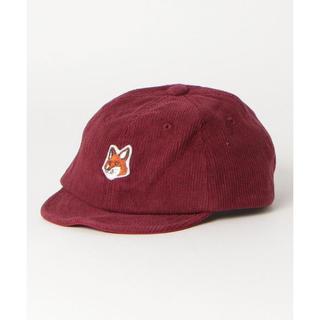 マーキーズ(MARKEY'S)のMARKEY'S☺︎オーシャン ワッペンオールドベースボールキャップ きつね(帽子)