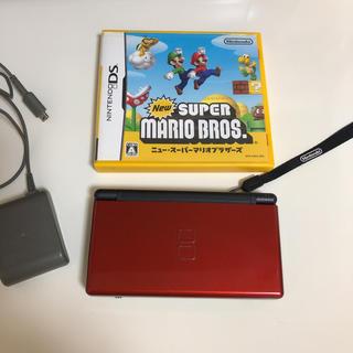 ニンテンドーDS - 任天堂DS ライト本体とスーパーマリオソフト