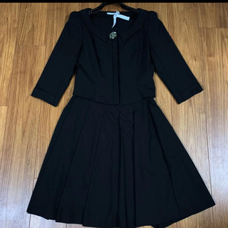 フォクシー(FOXEY)の新タグ 美品 フォクシーニューヨークコレクション デコルテ スーツ セットアップ(スーツ)
