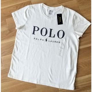 【新品未使用】ポロラルフローレン // 白のTシャツ