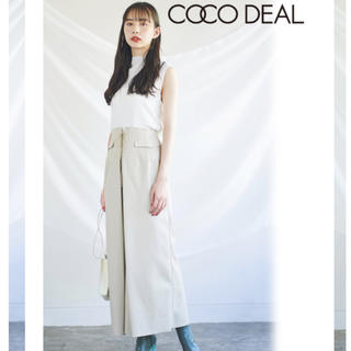COCO DEAL - COCO DEALエコレザーロングスカート