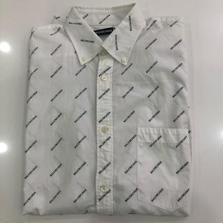 バレンシアガ(Balenciaga)のバレンシアガ 半袖 ロゴ シャツ(Tシャツ(半袖/袖なし))