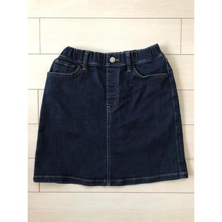 ユニクロ(UNIQLO)のユニクロデニムスカート140(スカート)