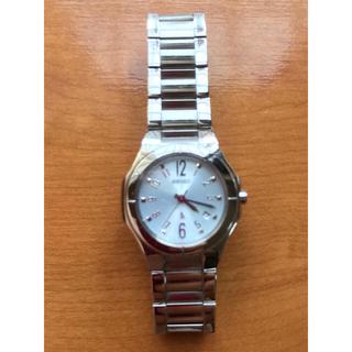 セイコー(SEIKO)のSEIKO  LUKIA デイト表示 文字盤水色  クォーツ 稼働中 (腕時計)