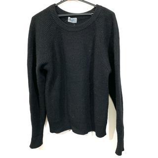 ケンゾー(KENZO)のケンゾー 長袖セーター サイズ1 S 黒(ニット/セーター)