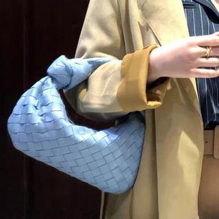 オールレザー★新品未使用 ラウンド型ミニホーボーバッグ(ハンドバッグ)