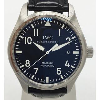 インターナショナルウォッチカンパニー(IWC)のIWC パイロットウォッチ マークXVI 黒文字盤 0778-02(腕時計(アナログ))